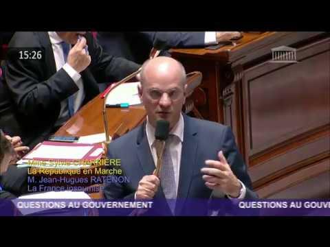 Ma Question Au Gouvernement à Jean-Michel Blanquer au sujet de la réforme de la voie professionnelle