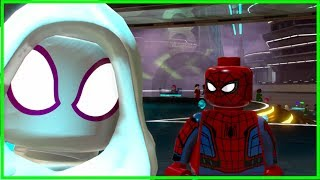 Spider-Man And Spider-Gwen Gameplay (LEGO Marvel Superheroes 2)