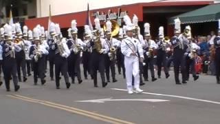 "Bonita Vista High School Club Blue ""Pathfinder of Panama"" at Arcadia Festival of Bands"