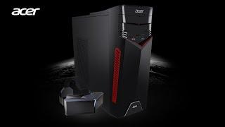 Acer aspire GX-781 review i7-7700, GTX 1060 3GB 16GB RAM