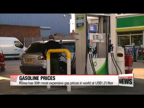 korea's-gasoline-is-50th-most-expensive-in-the-world
