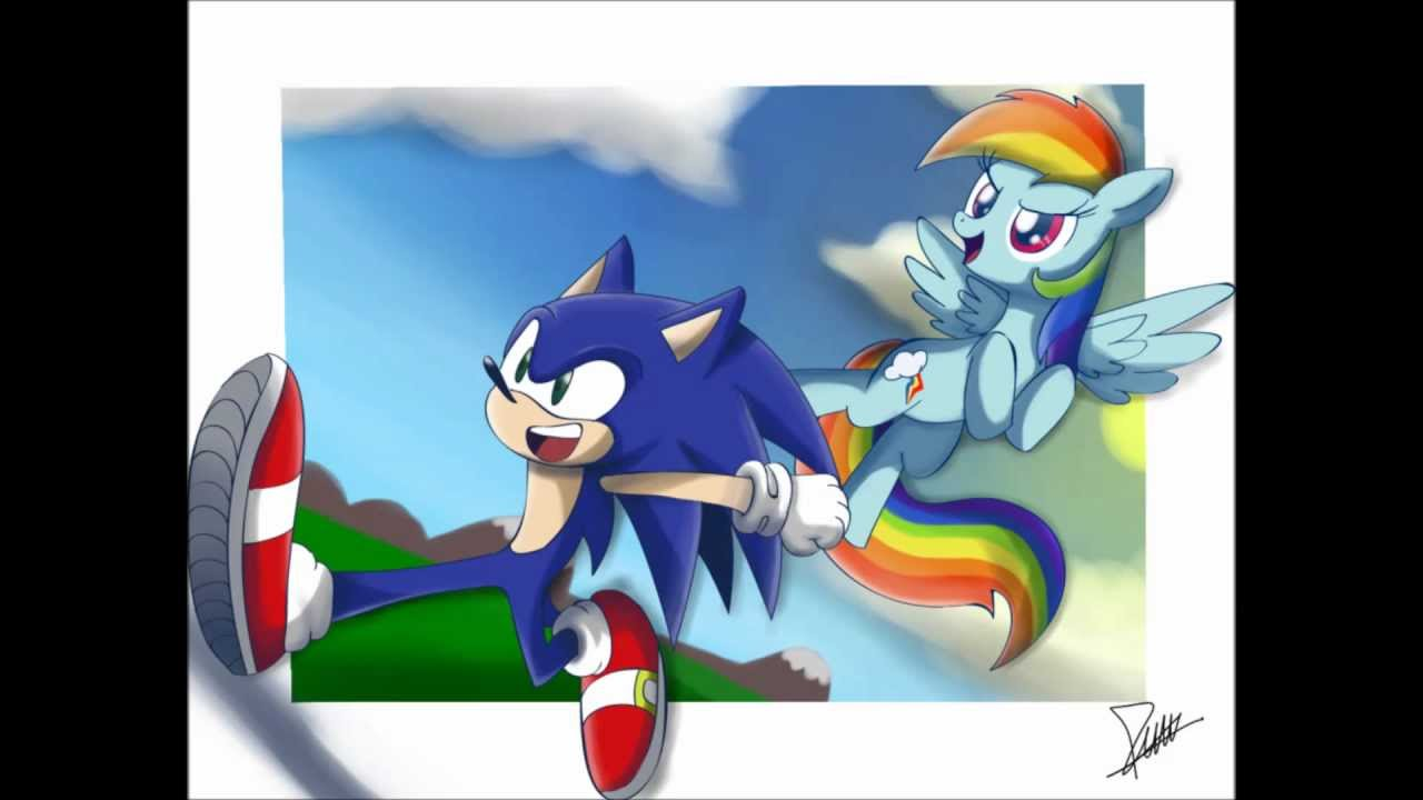 And Rainbow Love Sonic Dash