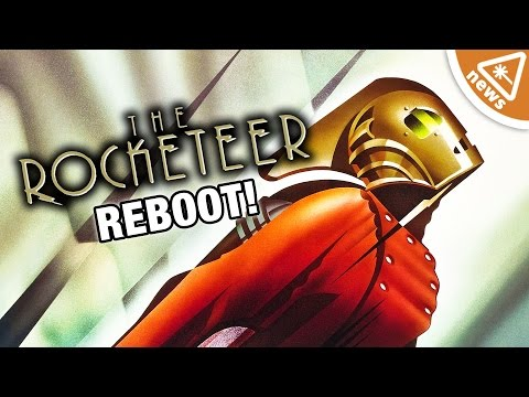 How The Rocketeer Sequel Twist Is Brilliant! (Nerdist News w/ Jessica Chobot)
