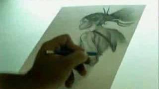 """Drawing nariko """"heavenly sword"""""""