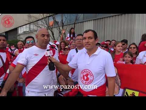 Peru vs Arabia S. (Suiza) PXM - EdicionMundialista con Roberto Pazos