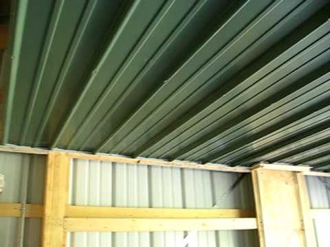 Keener Metal Ceiling Video 8 Youtube