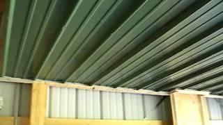 Keener Metal Ceiling Video 8