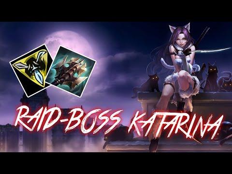 RAID BOSS KATARINA [4000+ HP, 300 HEALTH PER SECOND, 45% CDR]