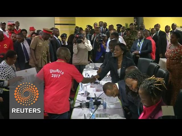 Kenya's President Kenyatta kicks off election campaign