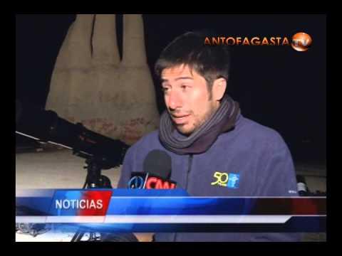 Astrónomos realizan mediciones en sector Mano del Desierto   Antofagasta TV Noticias