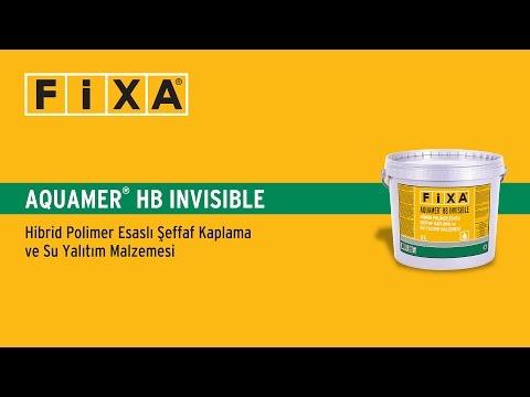 FİXA Aquamer HB Invisible - Şeffaf Su Yalıtım Uygulaması