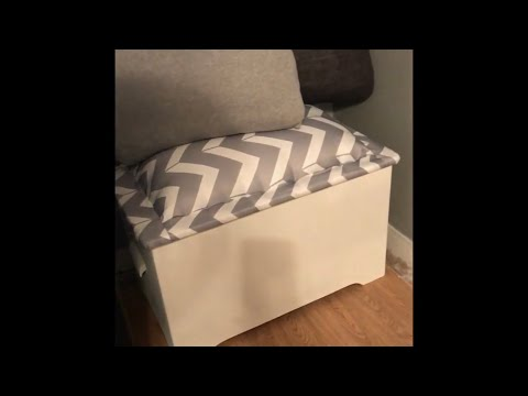 DIY || Wooden chest makeover