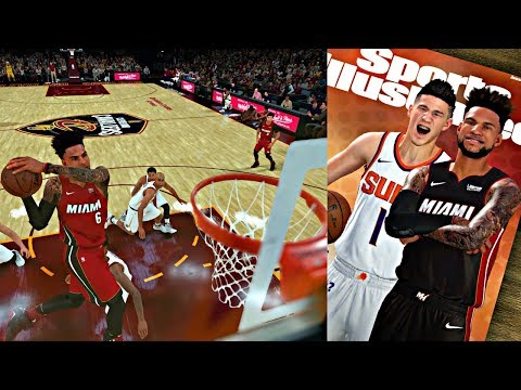 NBA 2K18 MyCAREER - CAM VS LEBRON PART 2! SPORTS ILLUSTRATED COVER WITH DEVIN BOOKER!