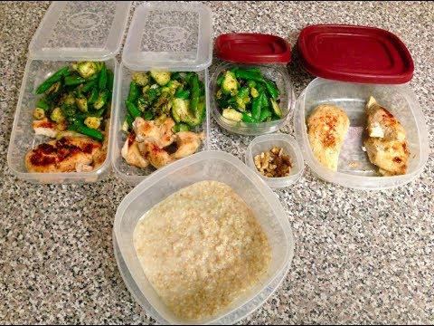 Men's Physique Contest Prep EP2 MY MEAL PLAN
