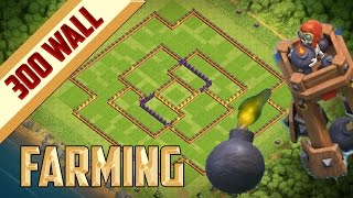 Clash of Clans | Town Hall 11 Farming Base | 2016 | 2 Bomber Tower | 300 Wall