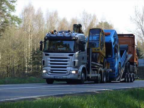 Trucks: Lithuania VS Latvia