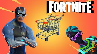 Fortnite Not in Roblox Gameplay (lmao) - Shopping Cart Chokes