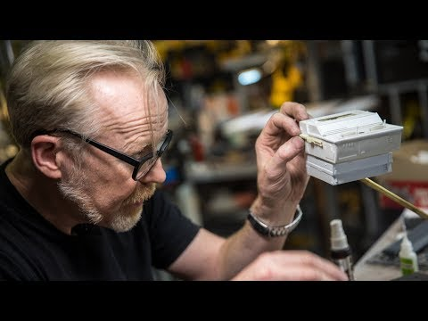 Adam Savage's One Day Builds: Kit-Bashing and Scratch-Building!