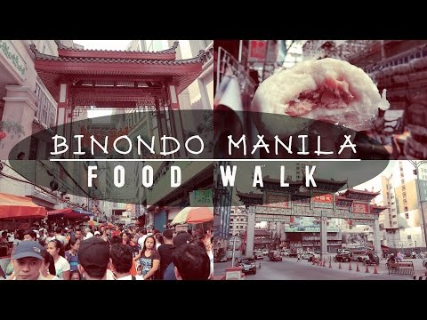 What to eat in Binondo Manila | Couple Travel Vlog | Philippines
