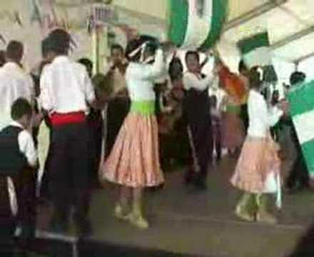 Verdiales en Las Tres Cruces: Entrada al escenario