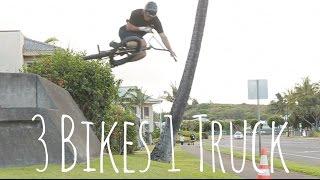 3 Bikes 1 Truck