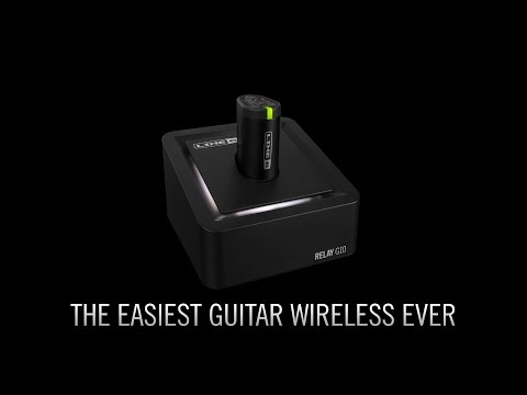 Introducing Relay G10 - the easiest guitar wireless ever   Line 6