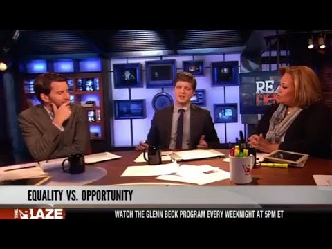 "Equality vs. Opportunity | ""Real News"""