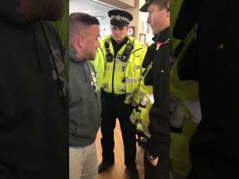 Aarron Lambo wrongly arrested by armed police in Tesco
