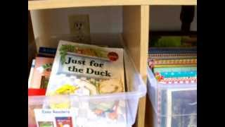 Homeschool Room Tour from Creative Learning Fun