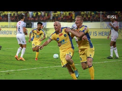 ISL Season 4  Kerala Blasters Vs Delhi Dynamos FC  Iain Hume penalty kick