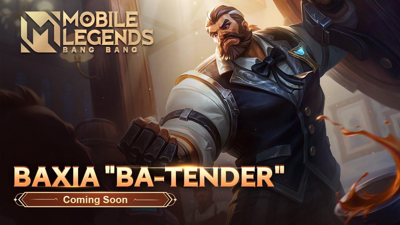 New Skin | Baxia | Ba-tender | Mobile Legends: Bang Bang