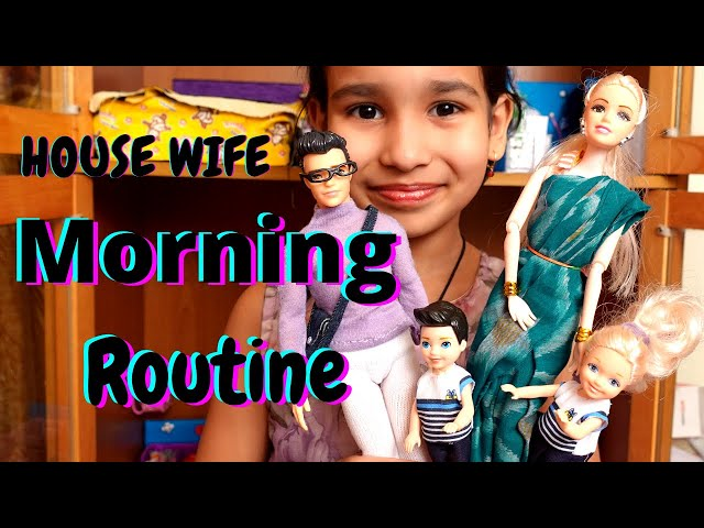 A Housewife Mom Morning daily routine game | PART-1 #LearnWithPari