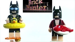 The Lego Batman Movie CMF Vacation Batman and Lobster-Lovin Batman