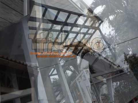 Canopy Kaca dan Railling Balkon Kelapa Gading