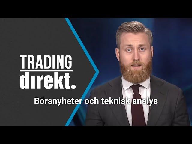 Trading Direkt 2020-10-02: Börsnyheter och teknisk analys med fokus på oljepriset!