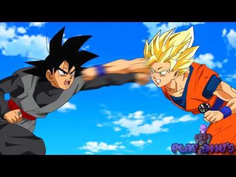Goku vs Black Goku AMV
