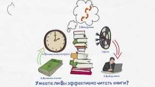 Эффективное обучение. Как Вы читаете книги?