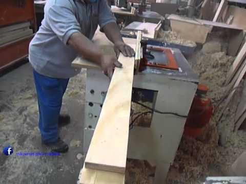 Trompo sin marca maquinas para madera youtube - Molduras de madera para pared ...