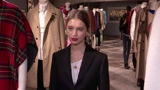 Iris Law and more at the Burberry party in Paris