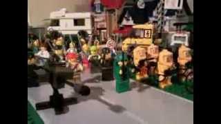 lego zombie outbreak the walking dead