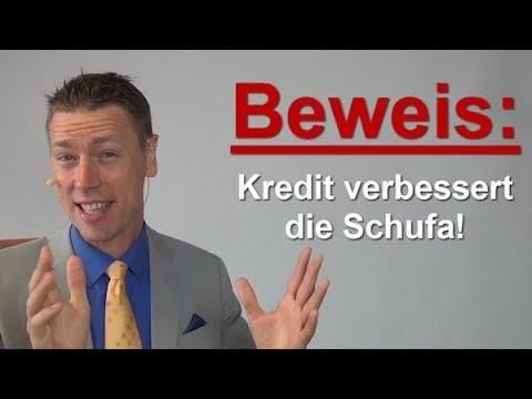 Beweis: Kredit verbessert Schufa!!!