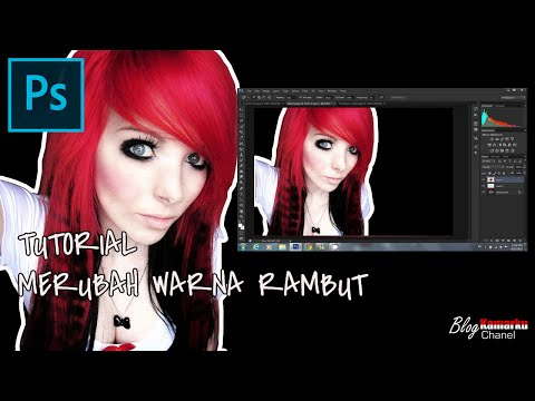 Download] Cara Merubah Warna Rambut Dengan Photoshop Dengan Mudah