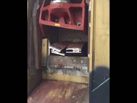 Heavy cuts from a LEFORT 600T shear/baler