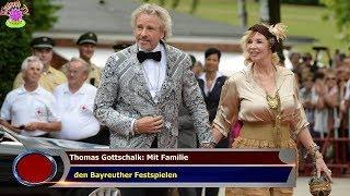 THOMAS GOTTSCHALK: MIT FAMILIE   DEN BAYREUTHER FESTSPIELEN