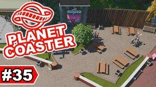 Gemütliche Picknick-Ecke | Planet Coaster Let's Play #35