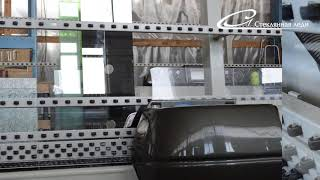 Станок для обработки кромки стекла или зеркала