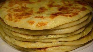 КАРТОФЕЛЬНЫЕ ЛЕПЕШКИ из сырного теста на кефире на сухой сковороде