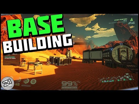 Base Building, Habitat, Work bench and MORE !! S2E2 Lets Play Osiris New Dawn Gameplay Z1 Gaming