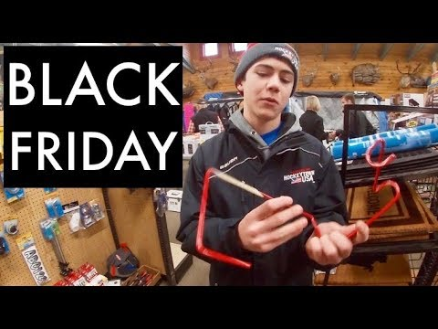 Black Friday Shopping For Ice Fishing Gear! + Gopro Hero 7 White