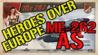Messersmith Me-262a2 Ace en HEROES OVER EUROPE || Live Gameplay